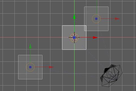 オブジェクトを移動するとカメラが自動でオブジェクトの方向を注視
