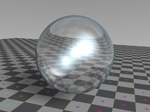 角膜のレンダリング見本