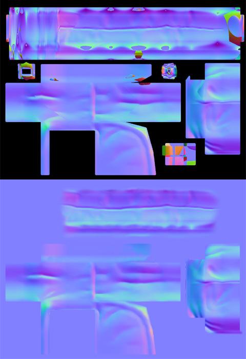 Bakeした画像をPhotoshopで加工・修正