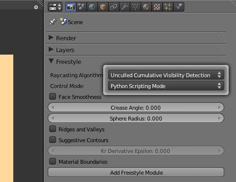 [Python Scripting Mode]を選択