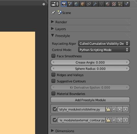 既存サンプル「external_contour.py」の読み込み