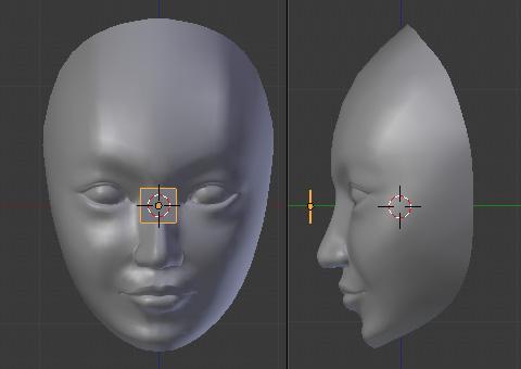 リトポ機能を使ってローポリゴンに再モデリング