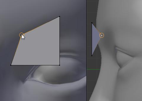 DisplayパネルのX-Rayを有効にする
