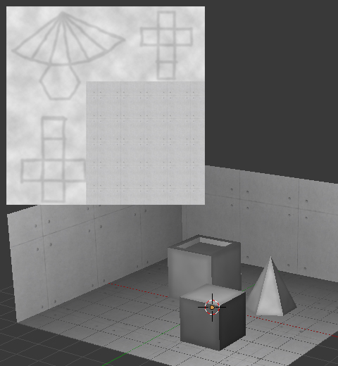陰影や凹凸を焼き付けるTexture Bake(テクスチャベイク)