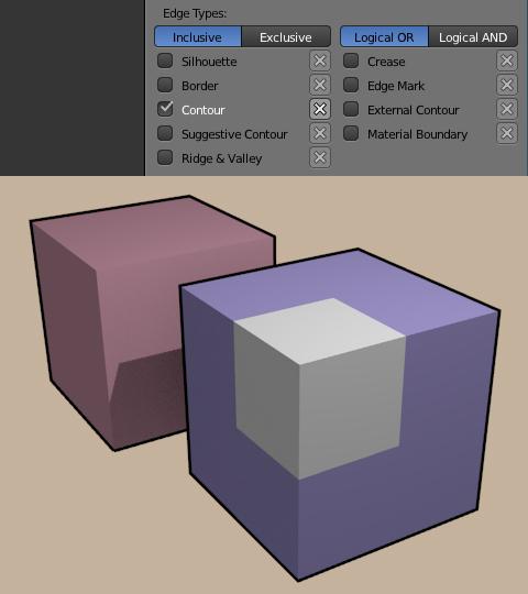 Contourで各オブジェクト毎の輪郭を描画