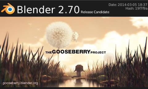 Blender2.70のRelease Candidate(リリース候補版)が公開