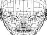 人体/顔面のテクスチャマッピング〈展開図の書き出し〉
