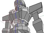 メカ(オリジナルロボット)制作〈ざっくりモデリング〉